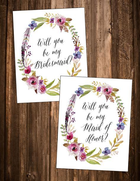 Kartu Bridesmaid Wedding will you be my bridesmaid