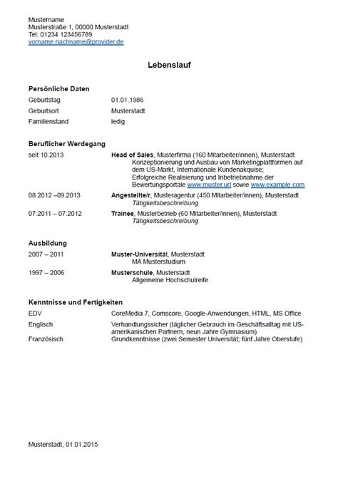 Tabellarischer Lebenslauf Fur Uni Bewerbung Lebenslauf Muster F 252 R Uni Bewerbung Lebenslauf Beispiel