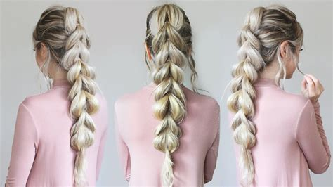 braids pulled my hair out how to pull through braid hair tutorial for beginners