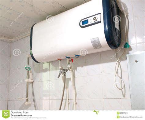 bathroom water heater electric heater stock photos image 26517423