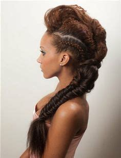 hairstyles afro caribbean hair hot hair styles on pinterest afro natural hair and mohawks