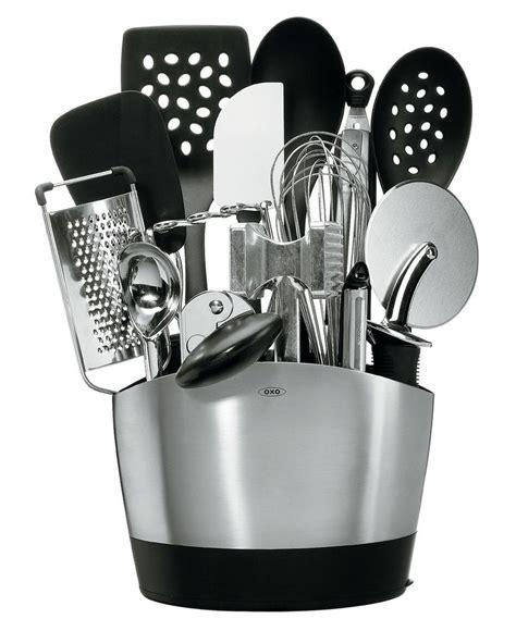 oxo 15 piece kitchen utensil set