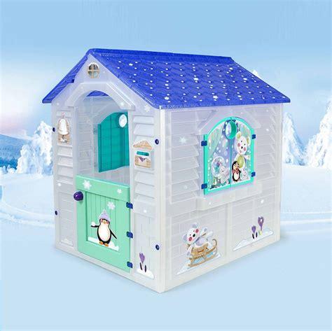 casitas de juguetes para jardin casita de hielo para ni 241 os juguete de exterior casitas