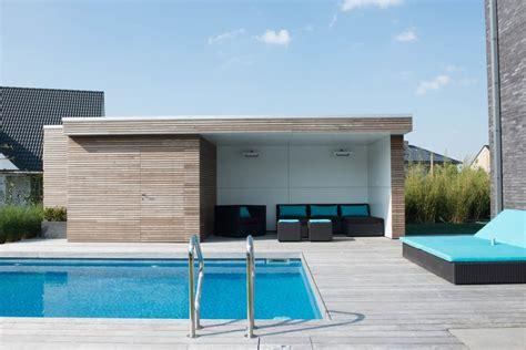 Pool House En by Pool House En Bois