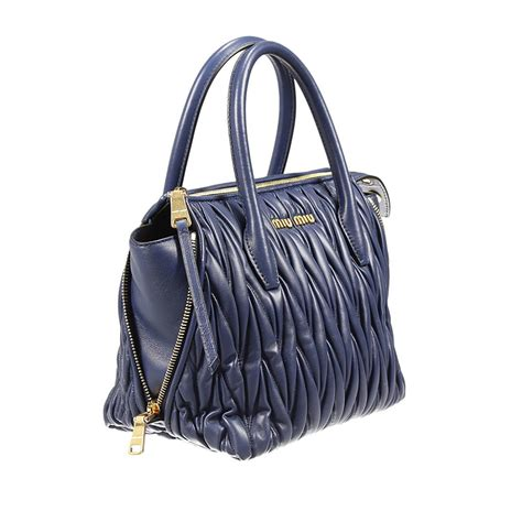 10 Miu Miu Bags by Miu Miu Handbag In Blue Lyst