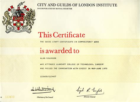 city and guilds certificate template metal to mac city guilds certificate in compositor