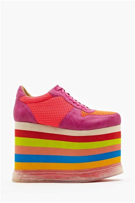 rainbow sneakers highlite platform sneaker rainbow sneaker cabinet