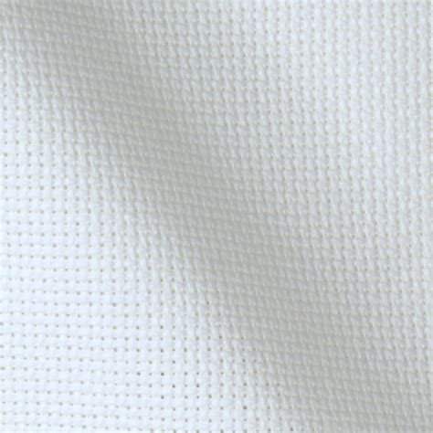 printable clear vinyl roll 14 count aida cloth white 60 quot wide by the yard cross
