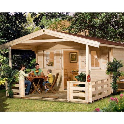 vordach terrasse weka 45 mm gartenhaus 135 mit vordach terrasse mein