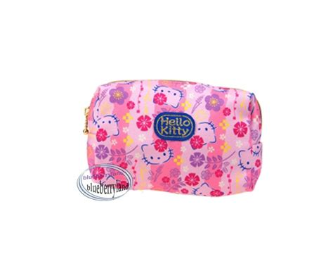 Hello Make Up Pouch sanrio hello pouch cosmetic purse make up bag pouch pencil bags