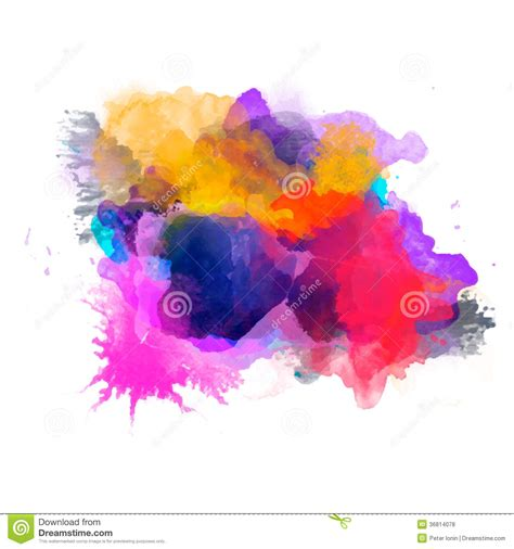 find related colors abstract watercolor palette of grange color royalty free