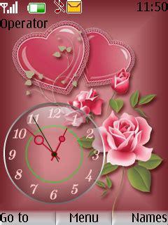 themes rose nokia download rose clock theme nokia theme mobile toones
