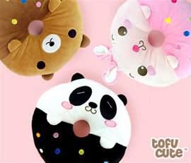 buy kawaii animal doughnut plush mini cushion tofu cute