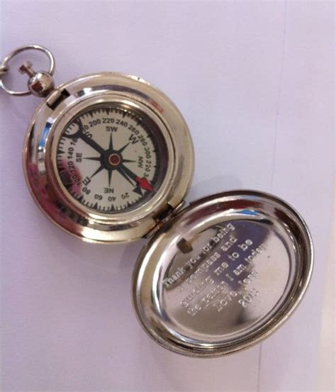Handmade Compass - personalized compass engraved compass antique working
