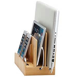 charging station great useful stuff 194 174 wood multi device charging station and cord organizerfor smartphones
