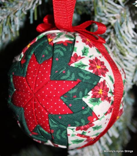 quilted star ornaments crafts christmas ornaments