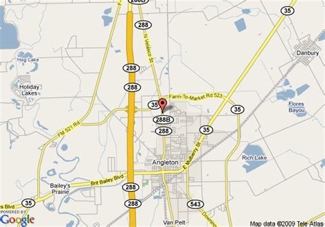 where is angleton on a map map of angleton inn angleton