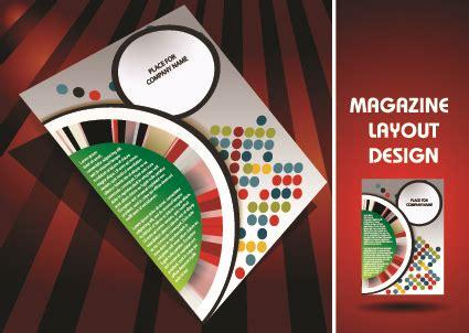 magazine pages layout design vector magazine pages and cover layout design vector free vector