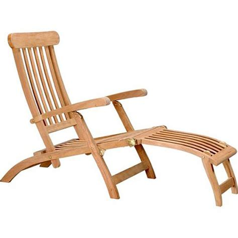 Teak Wood Lounge Chairs by D Collection Teak Steamer Lounge Chair Reviews Wayfair