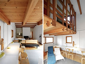 patio interior ladrillo casa experimental muuratsalo de alvar aalto arquitectura