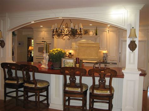 Kitchen Islands With Columns | kitchen island incorporating lally columns morris