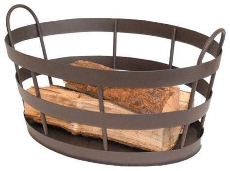 rustic fireplace log basket farmhouse fireplace