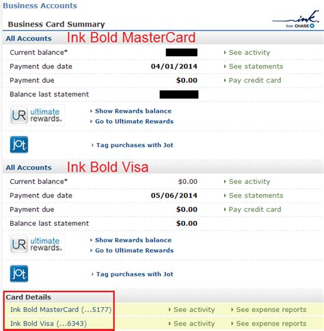 Ink Business Card Application