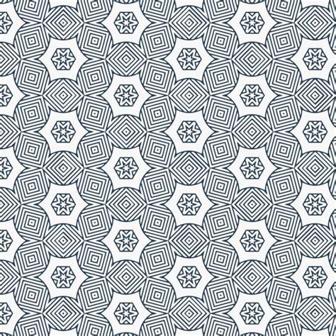 elegant pattern ai elegant geometric pattern with flowers vector free download