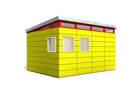 prefabricated shed kit modern shed kit 12 x 16