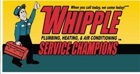 Whipple Plumbing Reviews by Whipple Service Chions Plumbing Heating Air