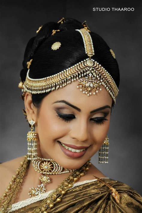 hairstyles for indian princess kandyan kandyan pinterest indian bridal hairstyles