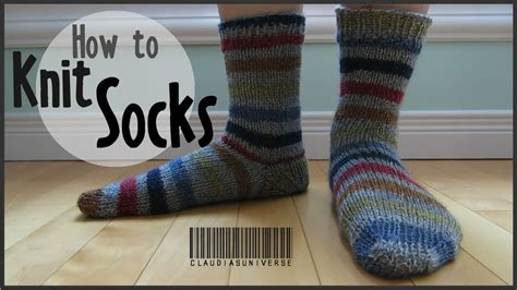 socks pattern youtube how to knit socks youtube