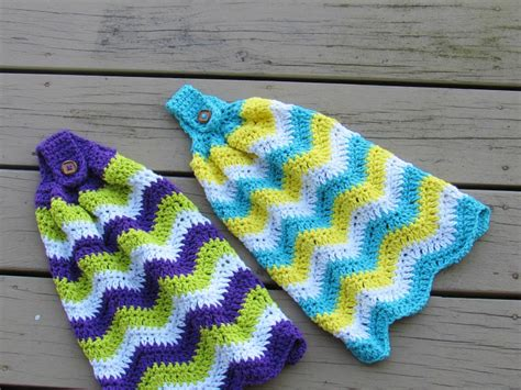 pattern crochet dish towel crochet dreamz chevron kitchen towel free crochet pattern