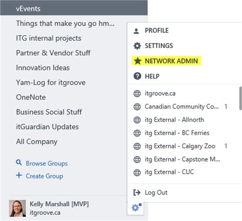 Office 365 Yammer Admin Yammer Network Admin Settings That Require Verified