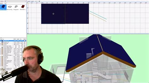 sweet home 3d design tutorial sweet home 3d roof tutorial youtube