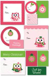 Free printable christmas gift tags to adorn your gifts