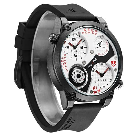 Weide Universe Series Dual Time Zone Compass 30m Water Murah weide universe series dual time zone compass 30m water