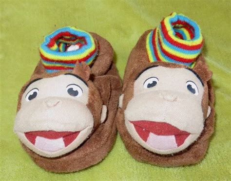 curious george slippers 180 best images about tv book characters on