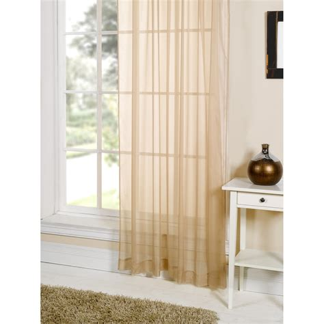 coloured voile curtains lucy plain coloured voile panel curtain ebay