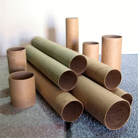Creative Craft Ideas For Home Decor by Make Your Own Kraft Paper Tubes