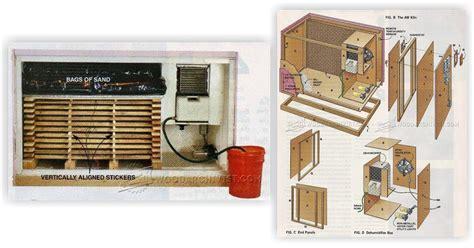 diy wood kiln dehumidifier