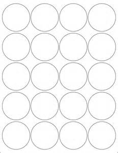 2 inch round labels stickers 5 sheets by poofyprints on etsy