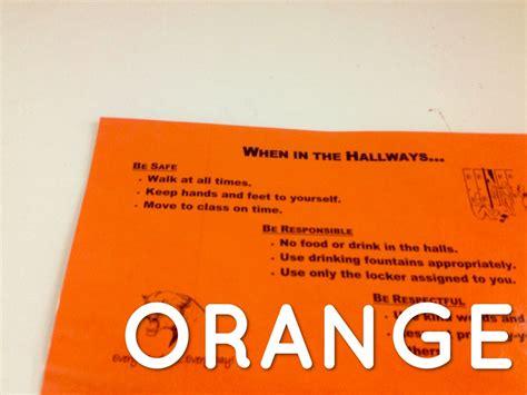 G5 Orange Purpel Segi4 colors scavenger hunt by diana kuehler