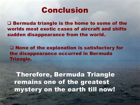 the mystery of bermuda triangle is solved now revoseek bermuda triangle the mystery continues