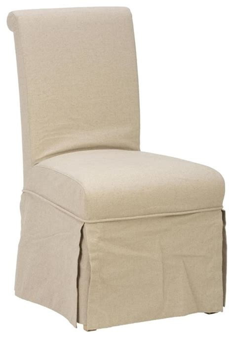 modern dining chair slipcovers slipcover skirted parson chair contemporary dining chairs
