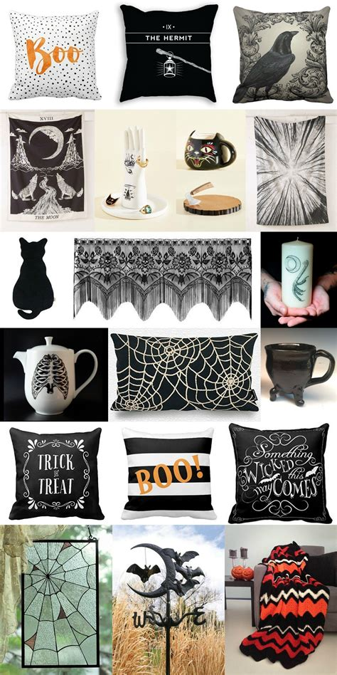 spooky home accessories curvy fashion