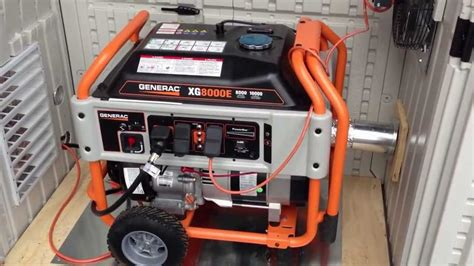 generac generator installed   suncast garden shed