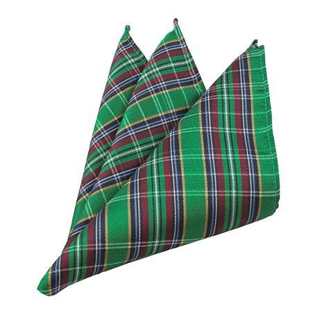 Plaid Necktie classic green plaid xl necktie