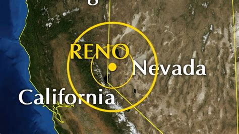 earthquake reno quake on major fault line rattles reno experts monitoring