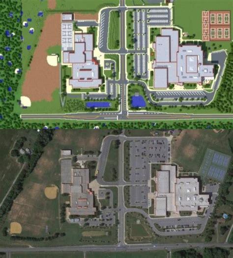 school minecraft map marriotts ridge high school minecraft project